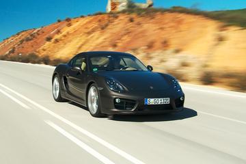Rij-impressie Porsche Cayman