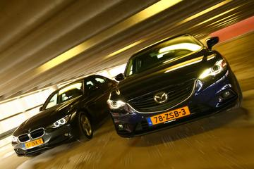 BMW 320d - Mazda 6 2.2