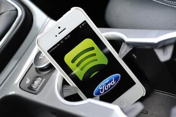 Ford en Spotify slaan de handen ineen
