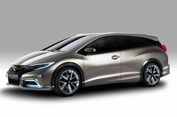 Voorproefje van Honda Civic Tourer Concept
