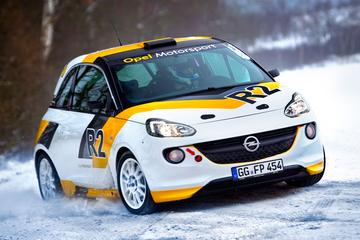 Opel gaat rallyen met Adam R2 Rallye