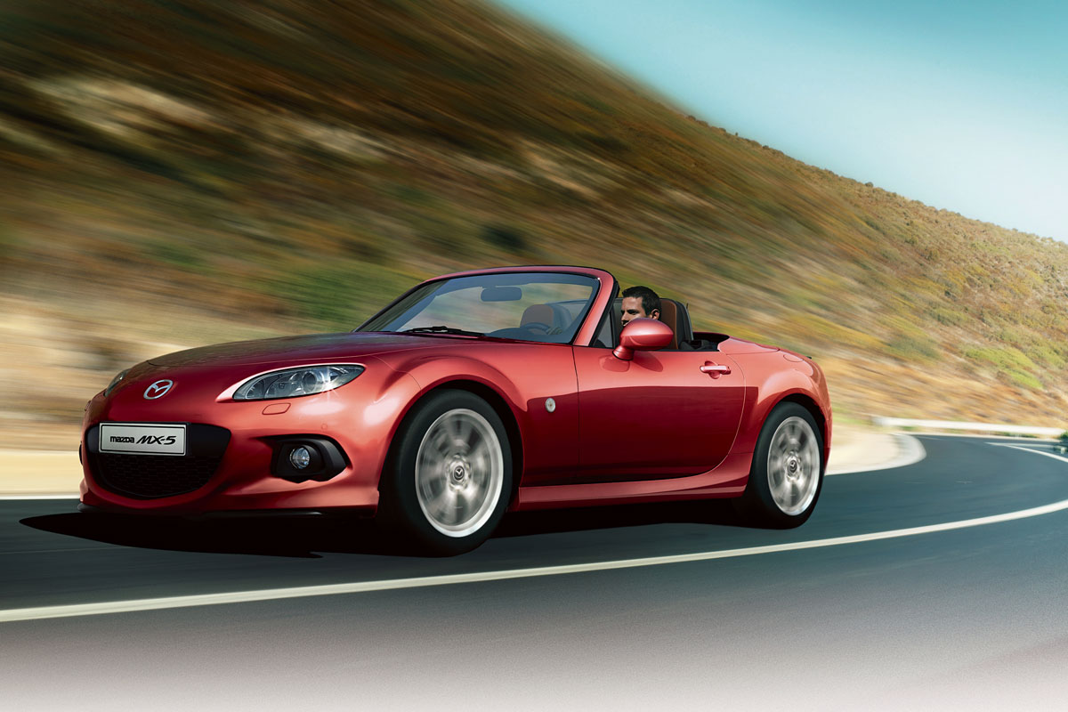 mazda mx 5 hanabi is limited edition autonieuws. Black Bedroom Furniture Sets. Home Design Ideas