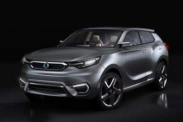 SsangYong SIV-1 Concept is los