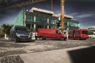 Opel Movano met start/stop: 8% zuiniger