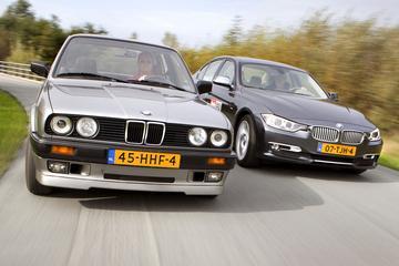 Oud & Nieuw: BMW 318i-BMW 320d