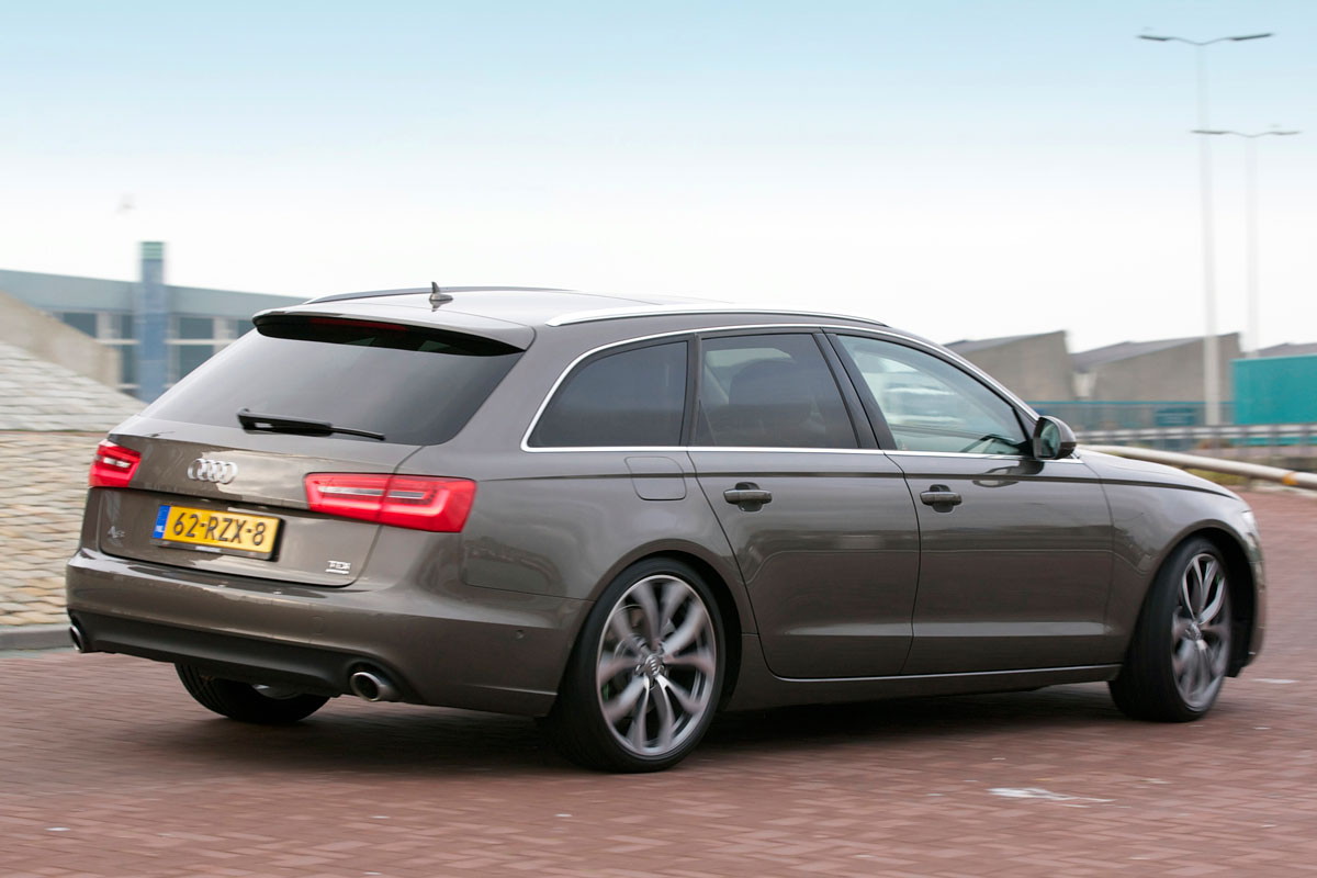 audi a6 avant 3 0 tdi 245pk quattro 2012 autotest. Black Bedroom Furniture Sets. Home Design Ideas