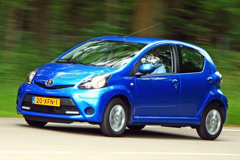 Toyota Aygo 1.0 12V VVT-i Aspiration (2012)
