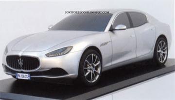 Maserati Ghibli 'mogelijk' gelekt