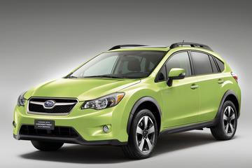 Eerste hybride Subaru naar New York