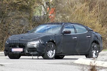 Maserati Ghibli trekt camouflagejas (weer) aan