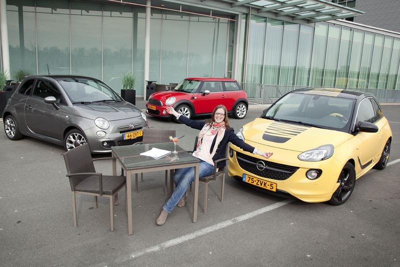 Fiat 500 - Mini One - Opel Adam