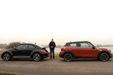 Dubbeltest - Mini Paceman vs. Volkswagen Beetle