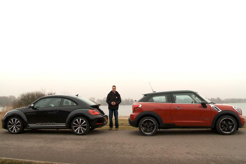 Dubbeltest - Mini Paceman vs. Volkswagen Beetle