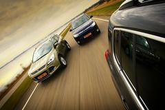 Volkswagen Tiguan - Mitsubishi Outlander - Ford Kuga