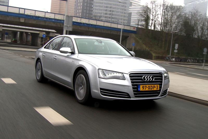 Rij-impressie Audi A8 Hybrid