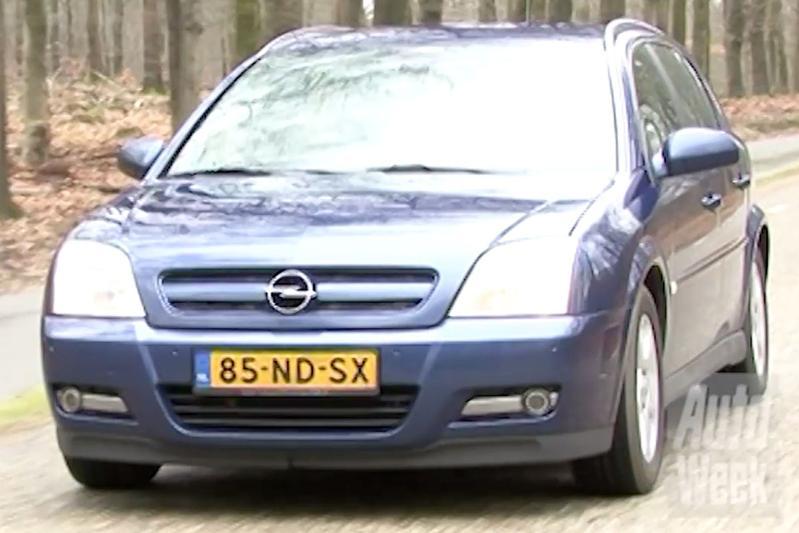 Klokje Rond - Opel Signum