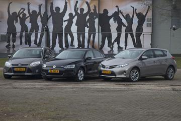 Volkswagen Jetta Hybrid - Toyota Auris Hybrid – Ford Focus Wagon