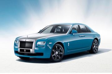 Speciale Rolls-Royce Ghost voor China