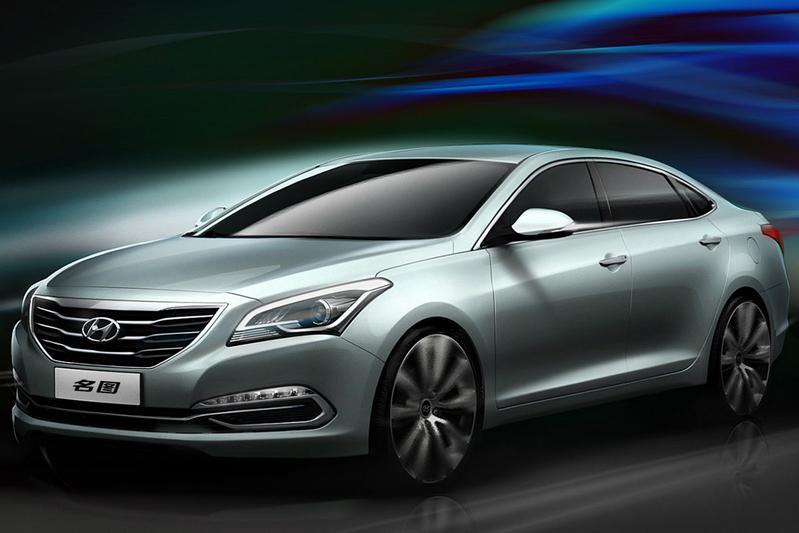 Hyundai Mistra: Sedan voor China
