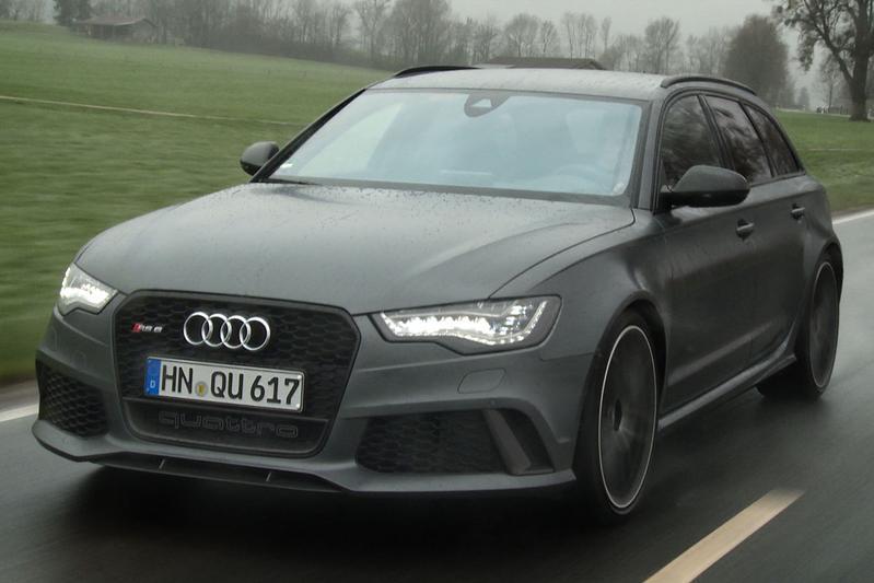 Rij-impressie Audi RS6