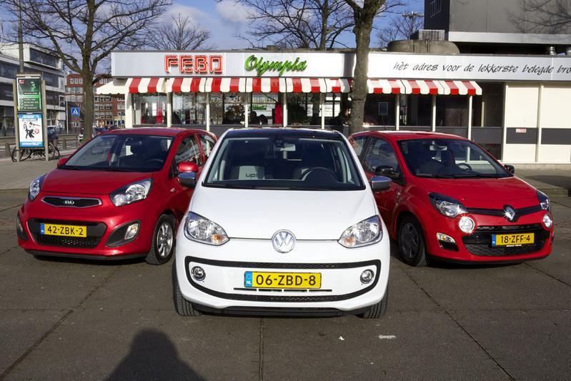 Kia Picanto - Volkswagen Up - Renault Twingo