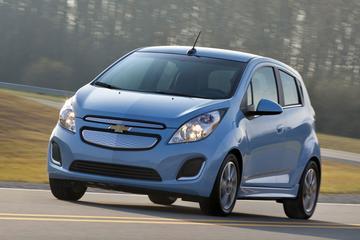Chevrolet Spark EV komt 132 km ver