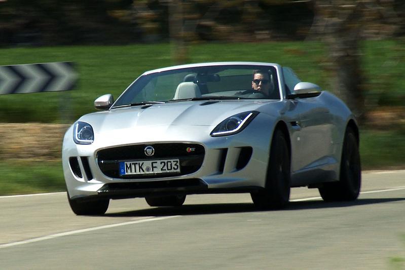 Rij-impressie Jaguar F-Type