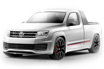 Nog meer Volkswagen bij Wörthersee: Power Pick-up