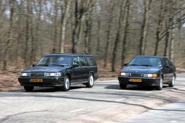 Saab 9000 - Volvo 960 Estate