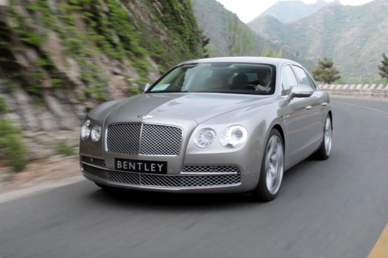 Rij-impressie - Bentley Flying Spur