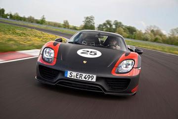Porsche 918 Spyder is geland!