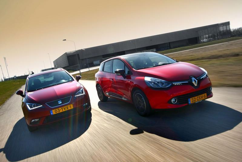 Seat Ibiza ST - Renault Clio Estate