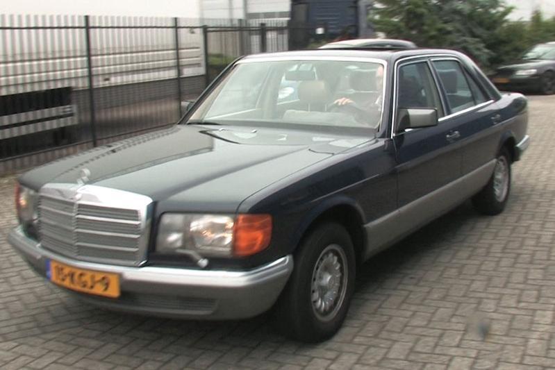 Op de rollenbank - Mercedes-Benz 280 SE