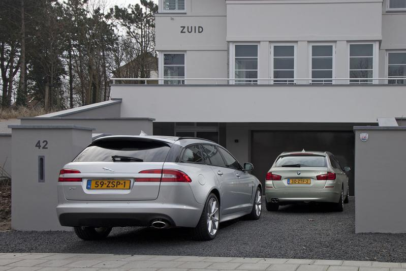 Jaguar XF Sportbrake - BMW 5-serie Touring