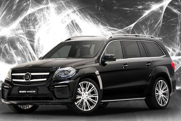 Brabus maakt ook van de Mercedes GL een Widestar