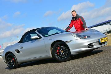 Op de rollenbank - Porsche Boxster S
