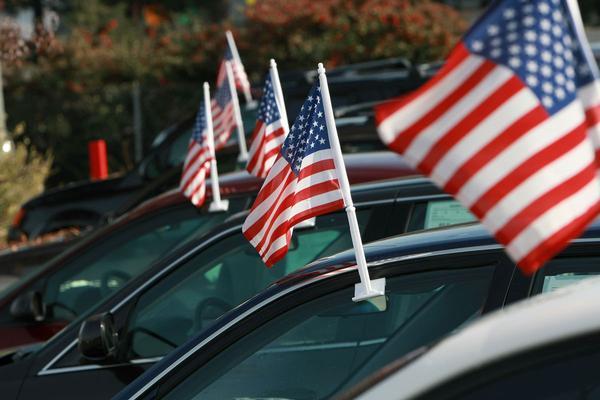 Verkopen grote autobouwers VS stellen teleur