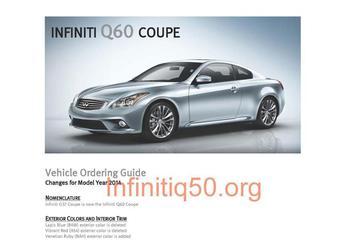 Infiniti G37 wordt Q60