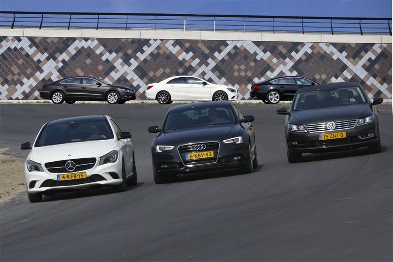 Mercedes CLA - Audi A5 - Volkswagen CC