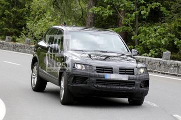 Volkswagen oefent met vernieuwde Touareg