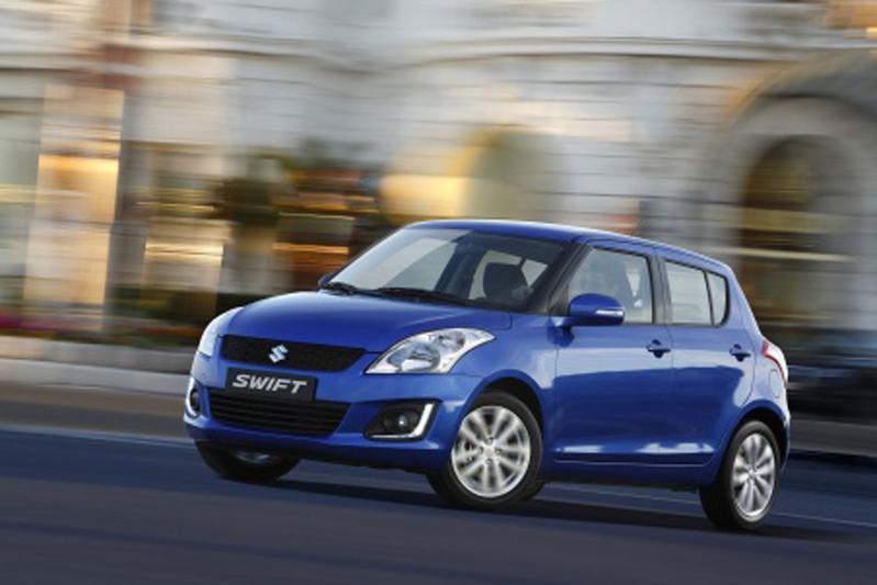 Facelift Suzuki Swift opgedoken