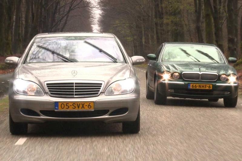 Klokje Rond - Jaguar XJ VS. Mercedes S-klasse