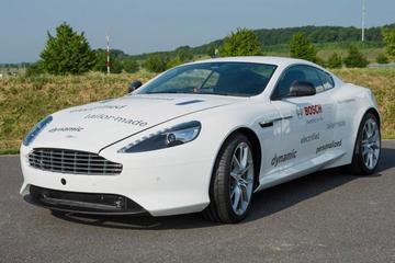Lekker groen: Aston Martin DB9 Plug-inhybride