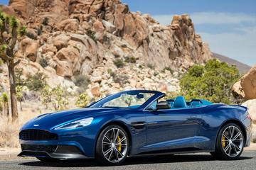 Aston Martin Vanquish Volante gaat dakloos
