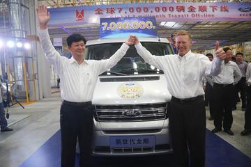 Zeven miljoen Fords Transit