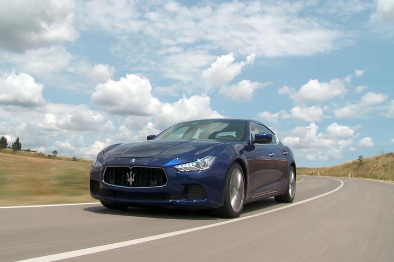 Rij-impressie Maserati Ghibli