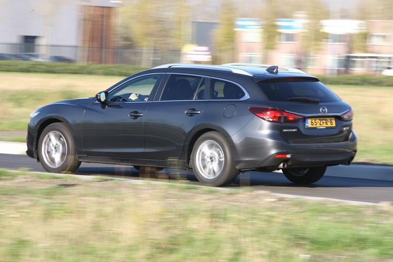 Mazda 6 SportBreak Skyactive-G 2.0 145 pk TS+ (2013)