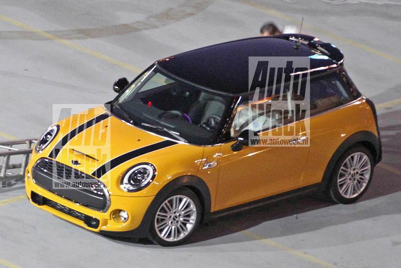 Helemaal naakt: de nieuwe Mini!