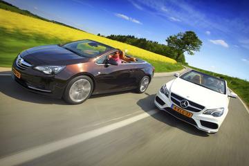 Opel Cascada - Mercedes E 200 Cabriolet
