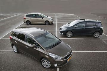 Toyota Verso - Renault Grand Scénic - Kia Carens